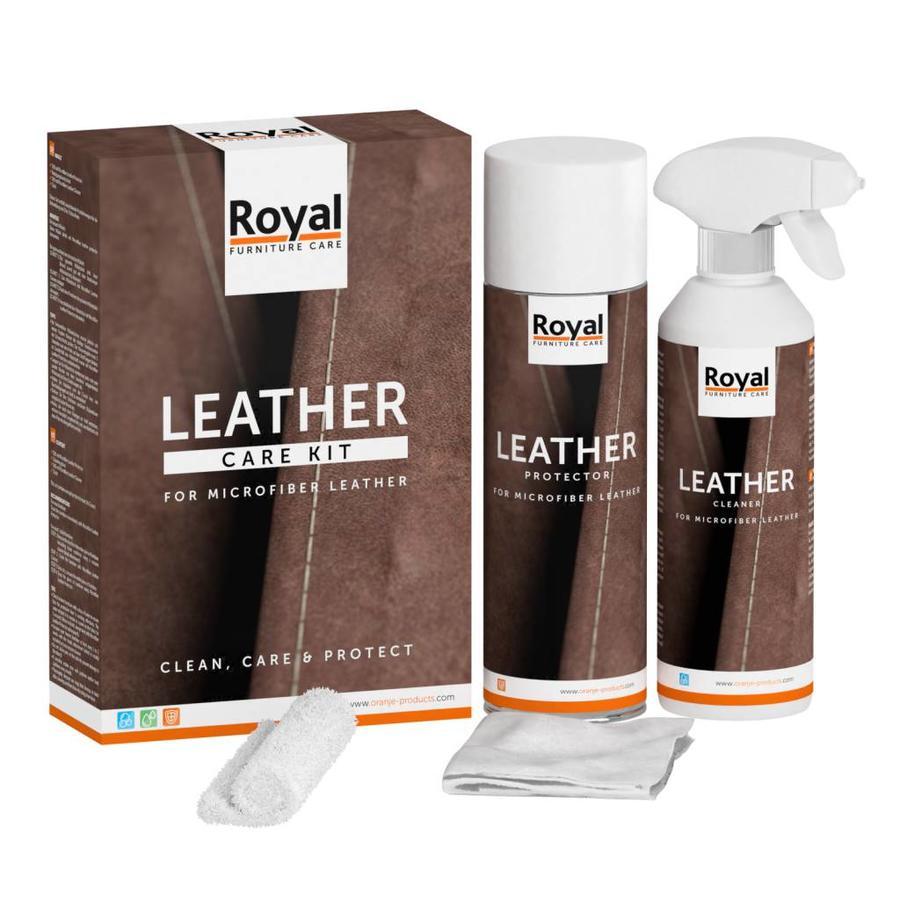 Microfiber Leather Care Kit-1