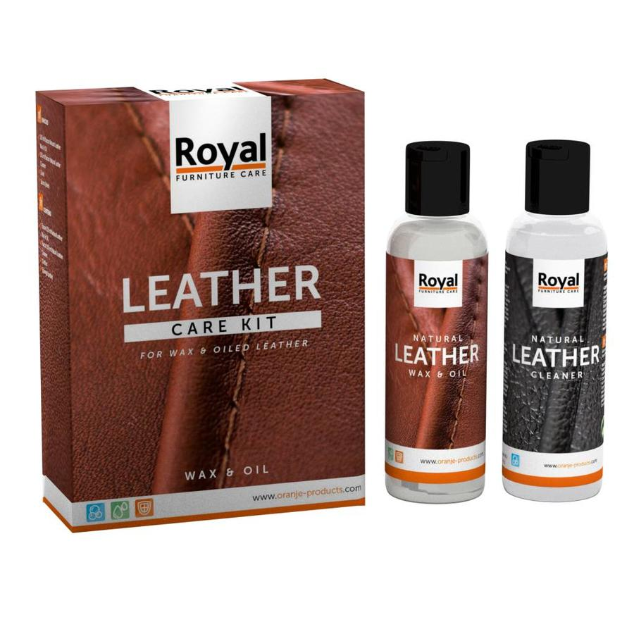 Leather Care Kit - Wax & Oil-1