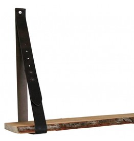 100% original leather shelf support brown (price for one piece)