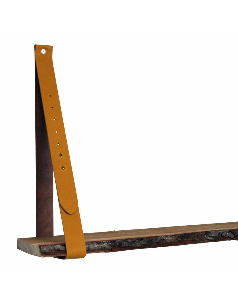 100% original Lederträger ockergelb verstellbar (Preis pro Stück)