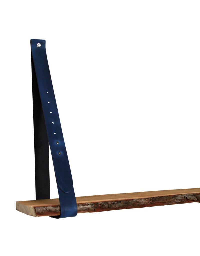 100% original Leren plankdrager jeans blauw verstelbaar (prijs per stuk)