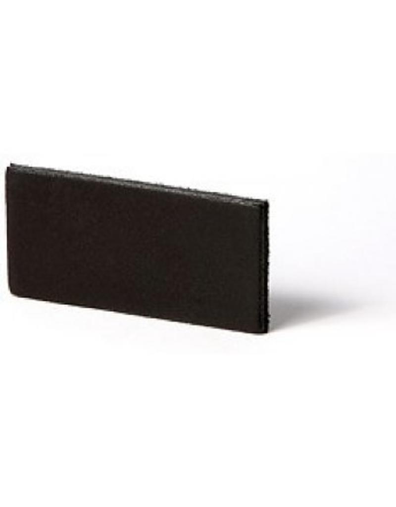 100% original Lederregalhalter schwarz verstellbar (Preis pro Stück)
