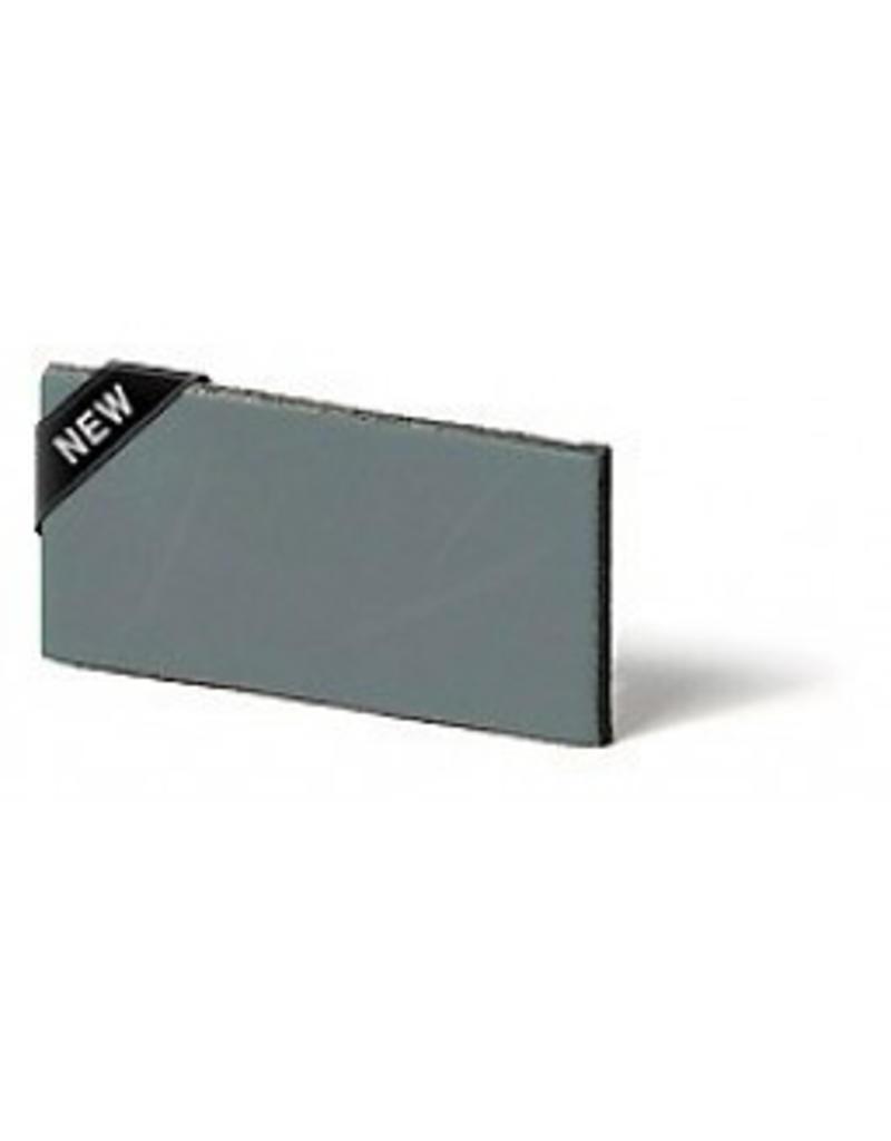 100% original Leder Regalstütze Lead grau / grün (Preis ein Stück)
