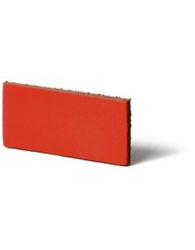 100% original Lederregalhalter brick red/orange verstellbar (Preis pro Stuck)