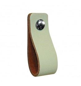 100% original Leather handle Pistachio mint