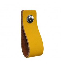 100% original Leather handle Yellow