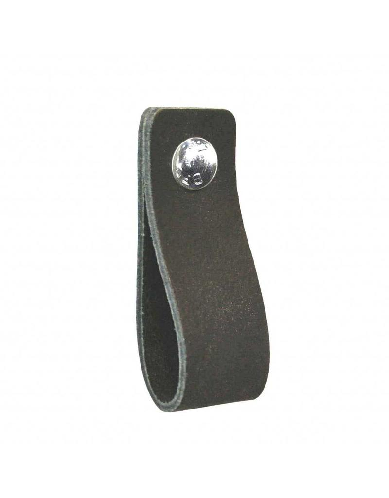 100% original Leather handle anthracite blackboard gray