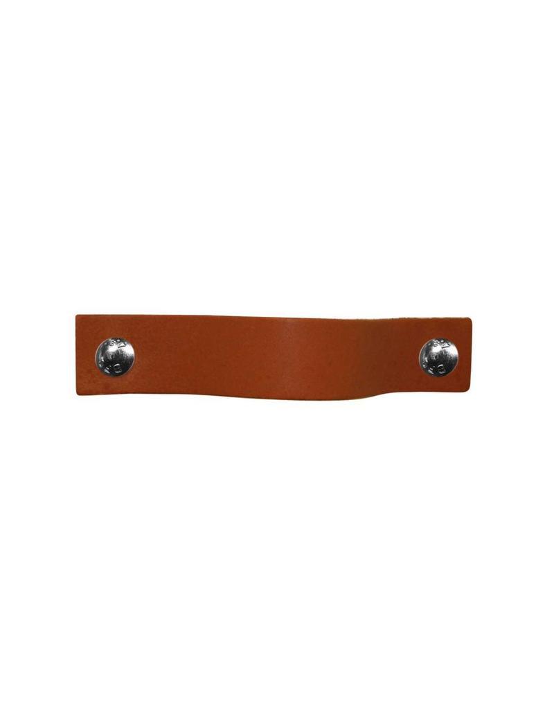 100% original Leather Pulls Cognac XSmall 2cm