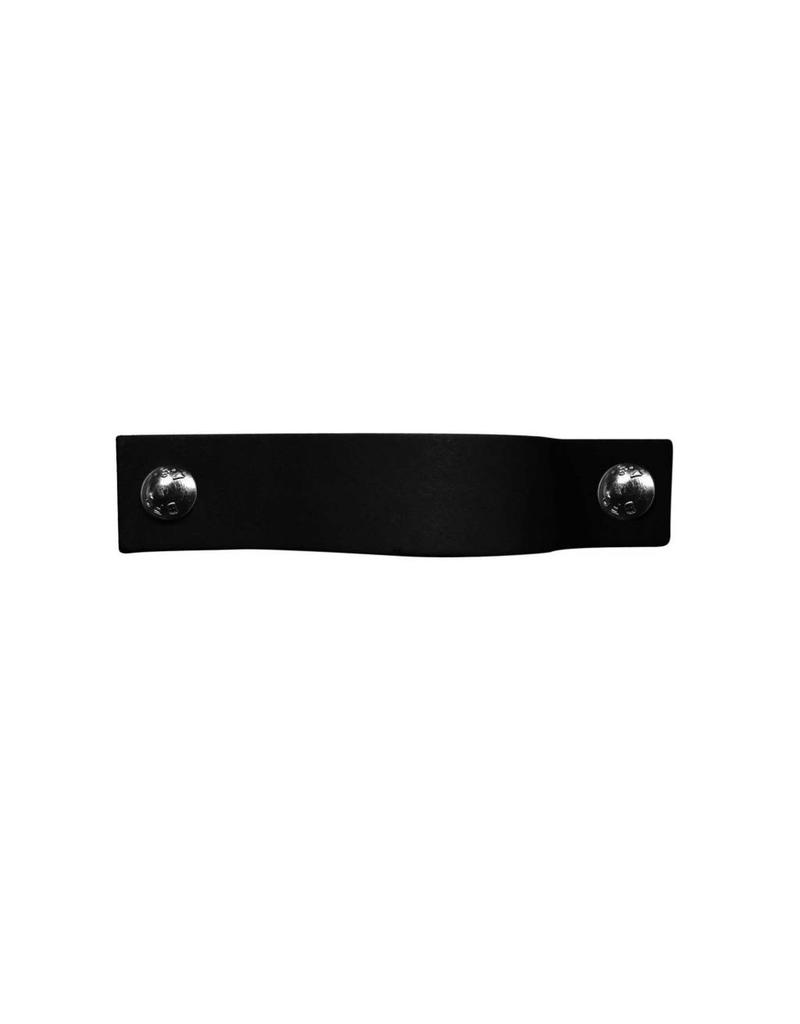 100% original Leather Pulls Black XSmall 2cm wide