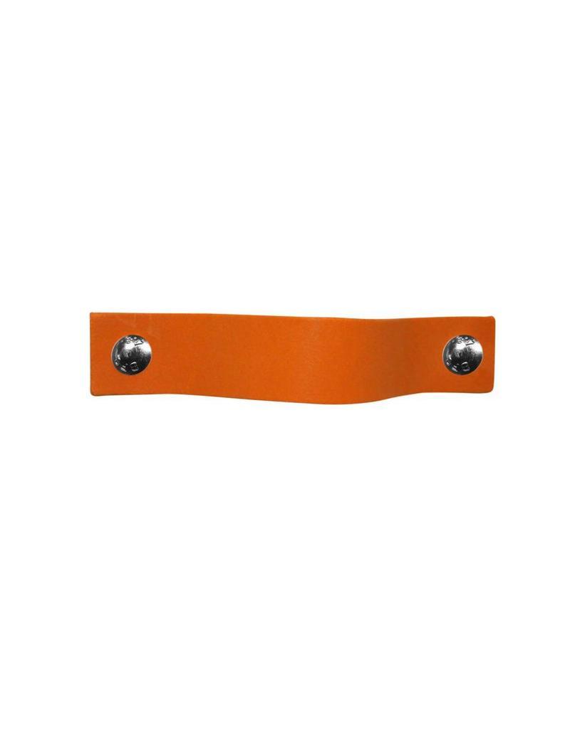 100% original Leather Pulls Orange XSmall 2cm wide
