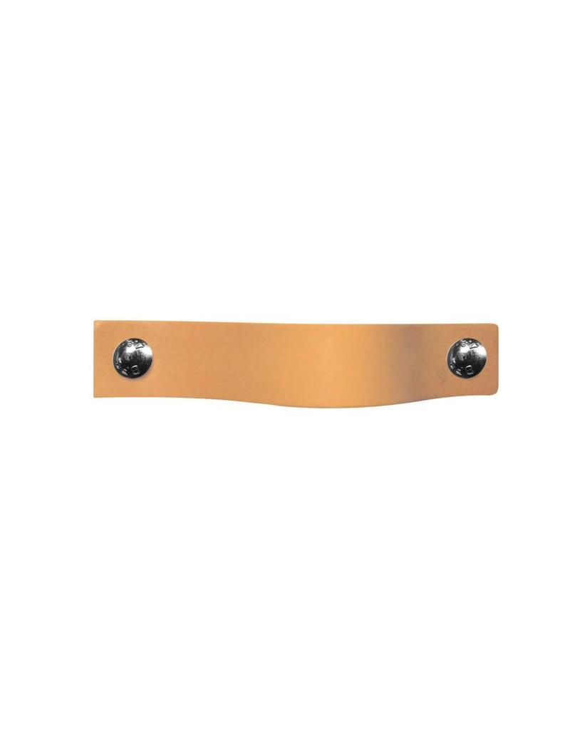 100% original Leather Pulls Salmon pink XSmall 2cm wide