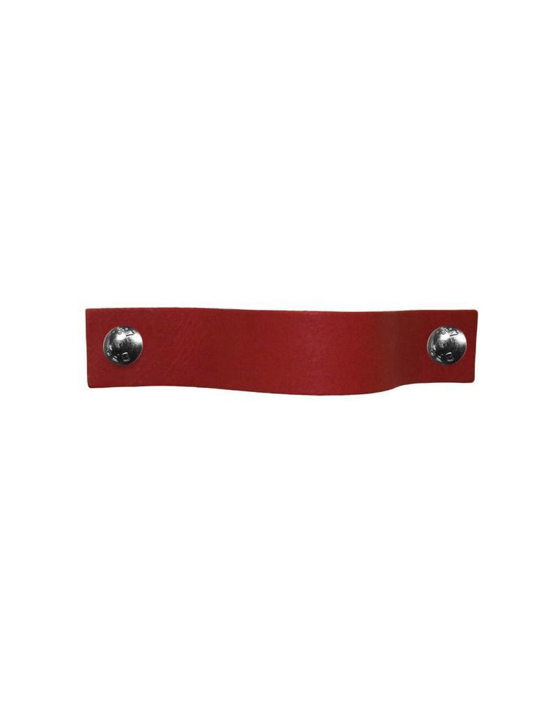 100% original Ledergriff Rubinrot MobelGriff  XSmall 2cm