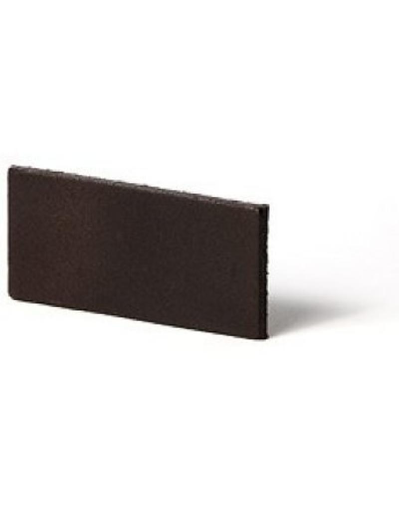 100% original Leder Regalträger dunkelbraun verstellbar