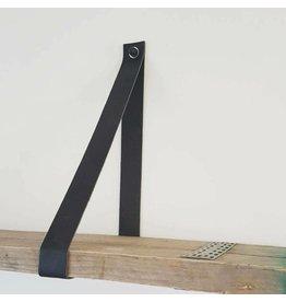 100% original kies hier lengte maten Leren plankendrager  3cm breed per paar