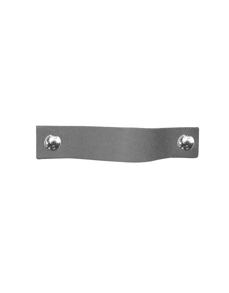 100% original Leather Pulls Grey XSmall 2cm wide