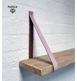 100% original 3cm breed Leren planken dragers 2 stuks dawn
