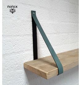 100% original 3cm breed Leren planken dragers 2 stuks lead