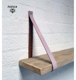 100% original 4cm breed Leren planken dragers 2 stuks dawn