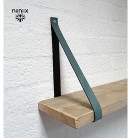 100% original 4cm breed Leren planken dragers 2 stuks lead