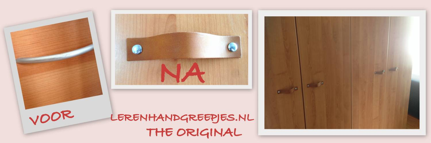 leather hand handle ends