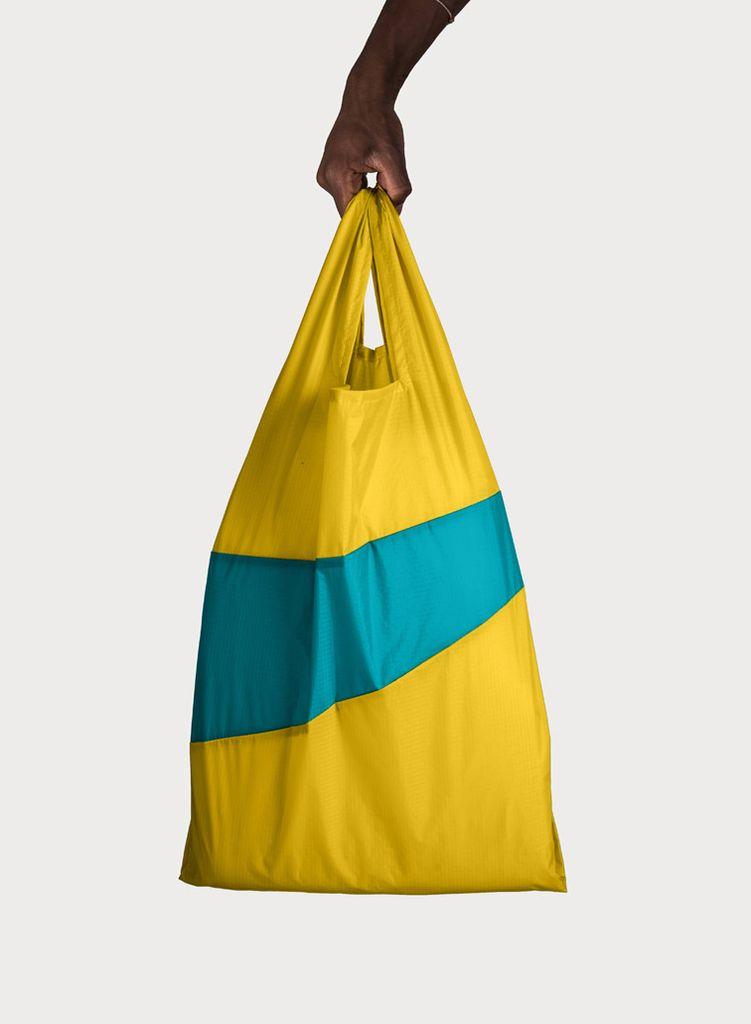 SUSAN BIJL Shoppingbag Helio & Aqua
