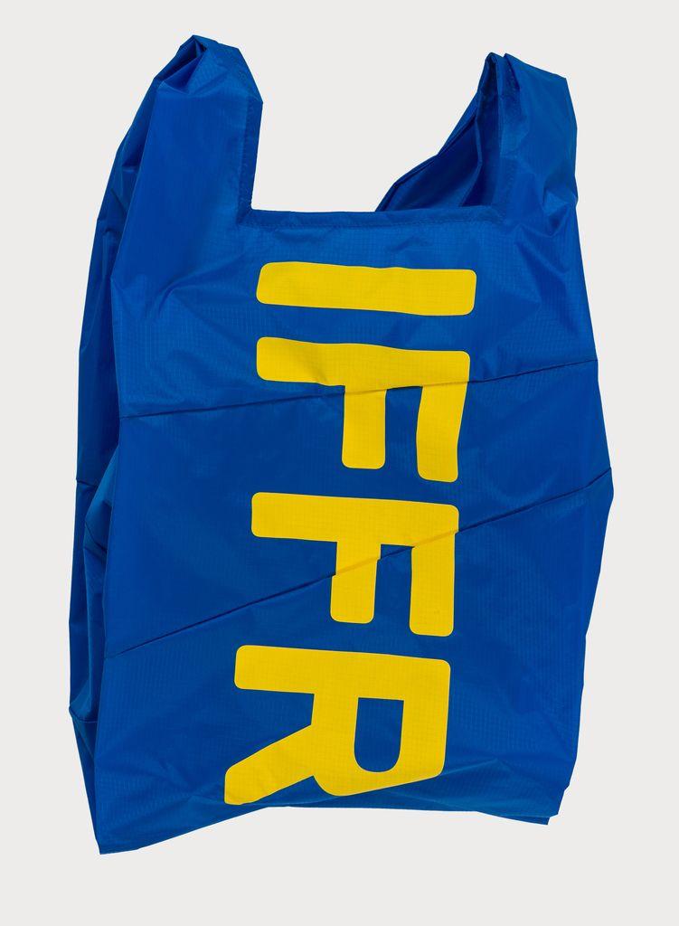 SUSAN BIJL Shoppingbag Blue & IFFR