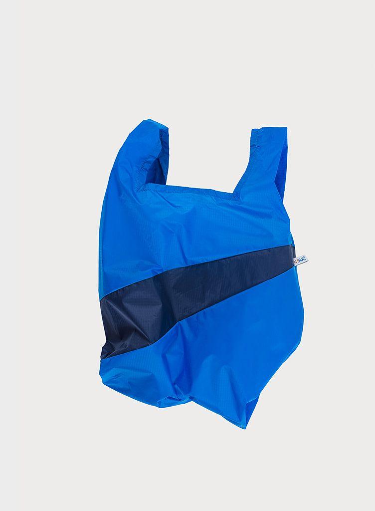 SUSAN BIJL Shopping Bag Blue & Navy