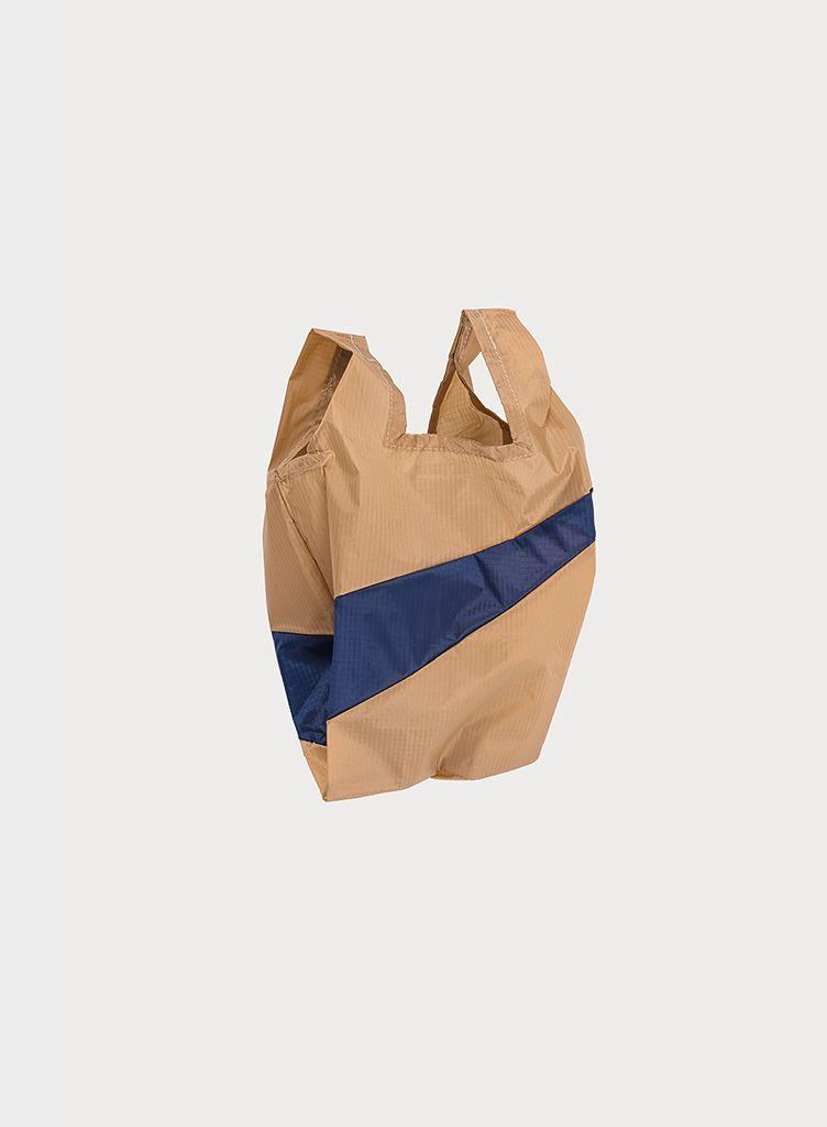 SUSAN BIJL Shoppingbag Camel & Navy