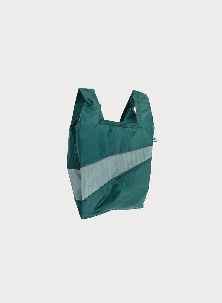 SUSAN BIJL Shoppingbag Pine & Grey