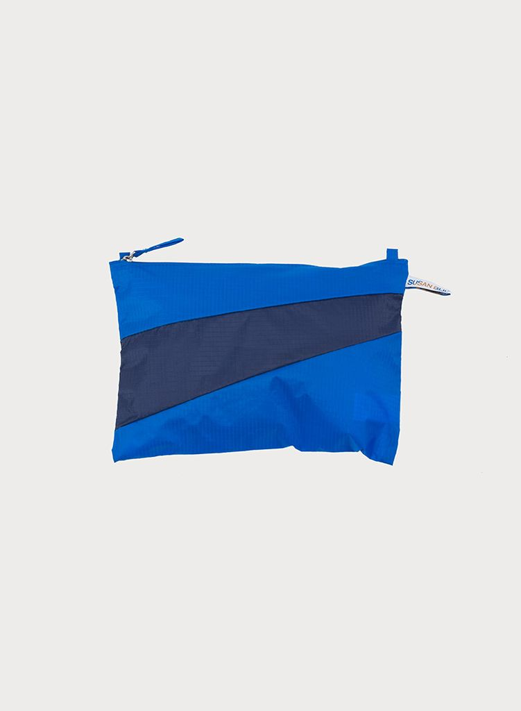 SUSAN BIJL Pouch Blue & Navy