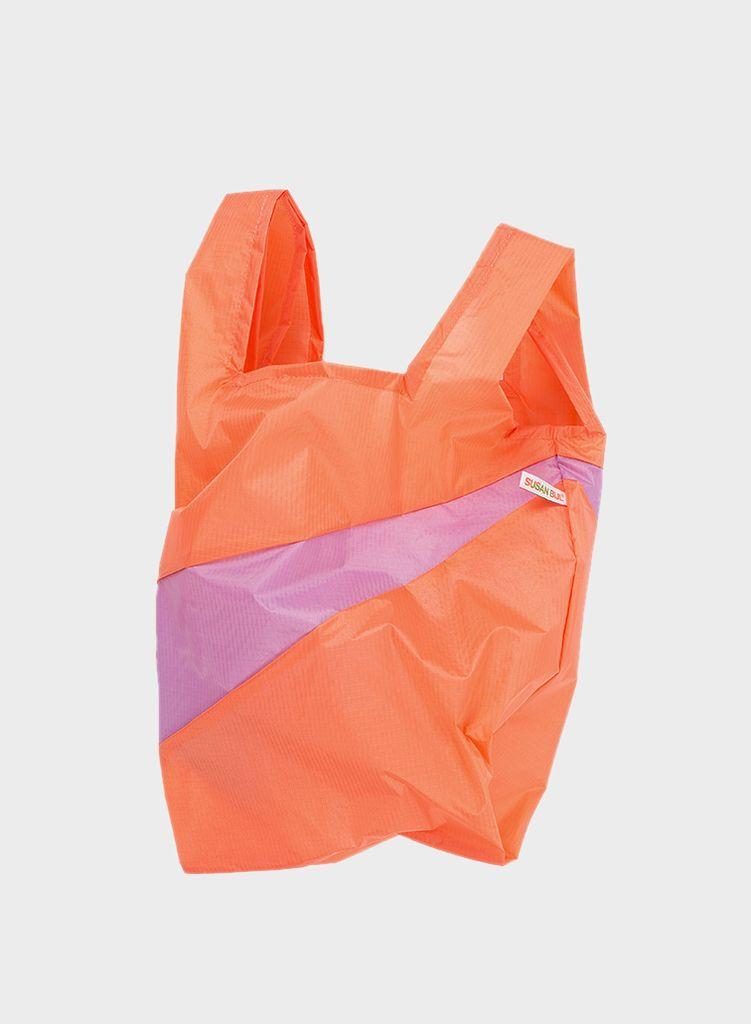 SUSAN BIJL Shopping Bag Lobster & Dahlia