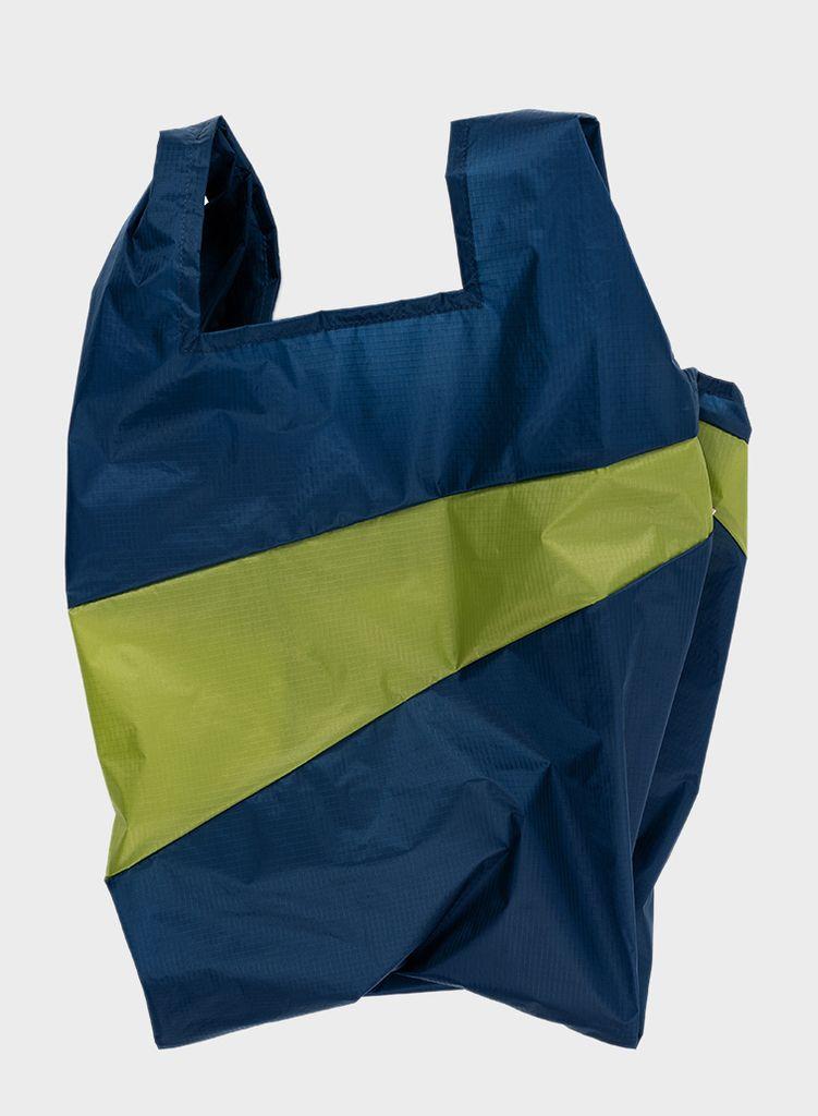 SUSAN BIJL Shopping Bag Midnight & Apple