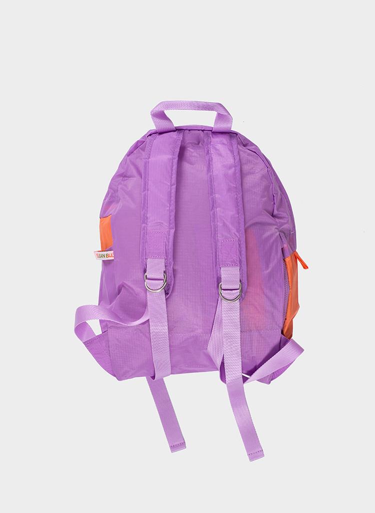 SUSAN BIJL Foldable Backpack Dahlia & Lobster