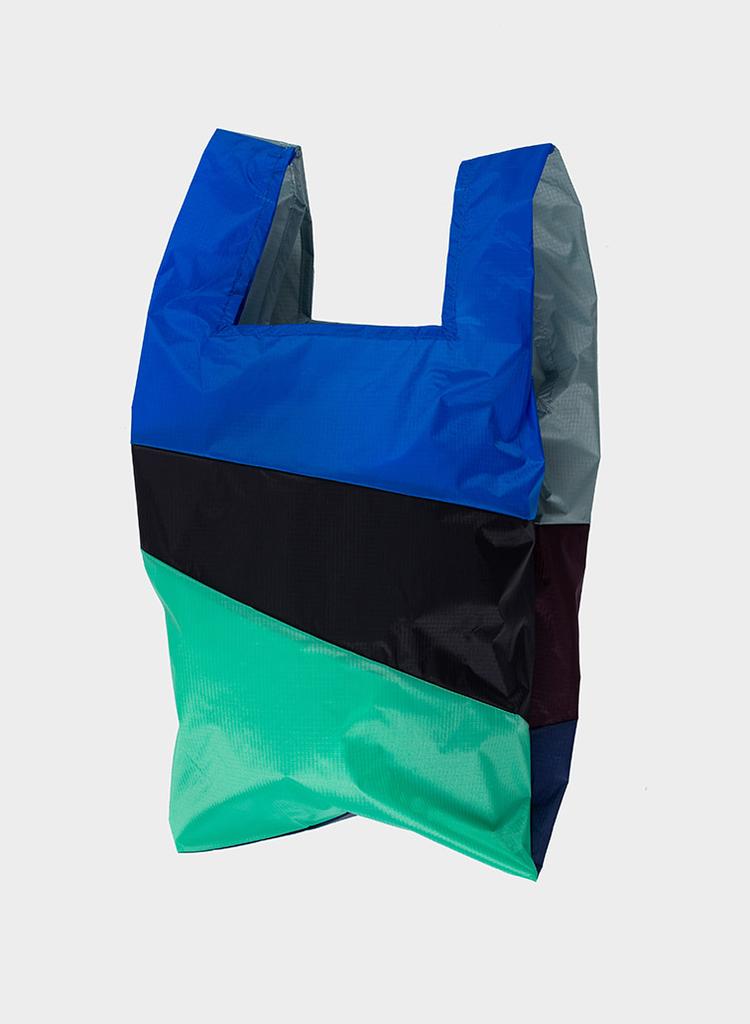 SUSAN BIJL Shoppingbag Grey, Oak, Navy, Blue, Black, Jade