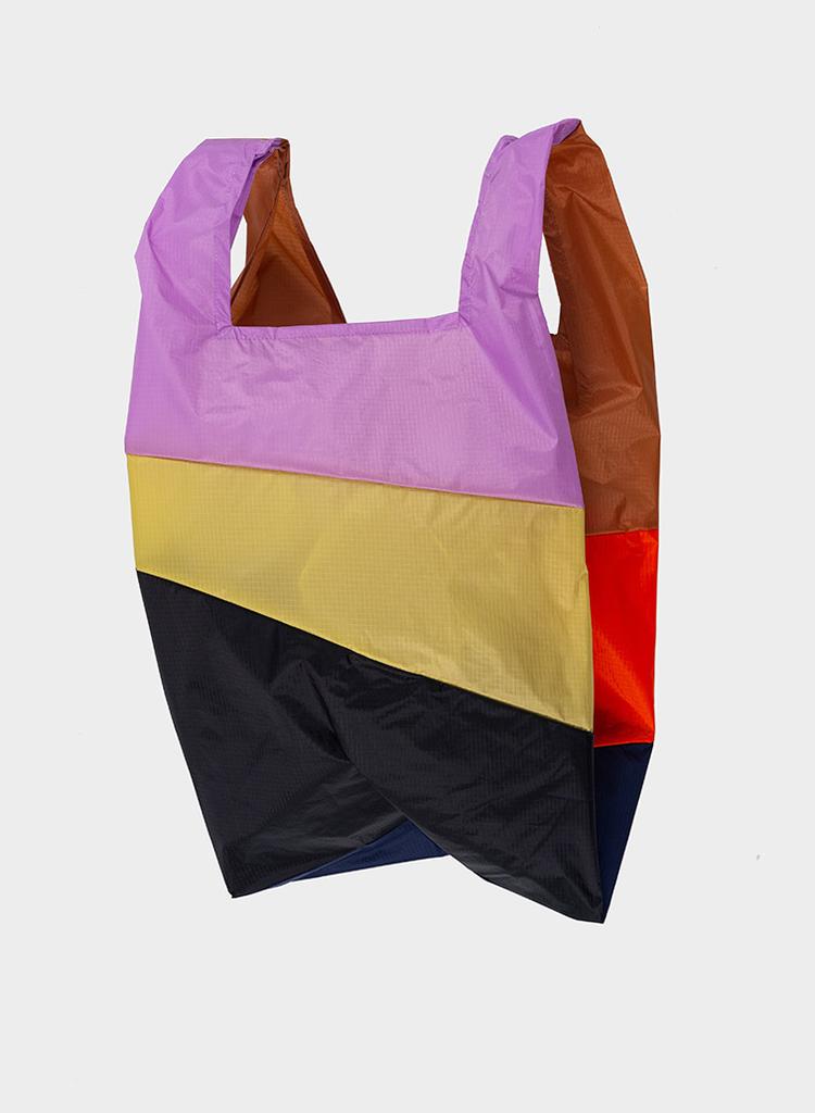 SUSAN BIJL Shopping Bag Horse, Oranda, Navy, Dahlia, Vinex, Black