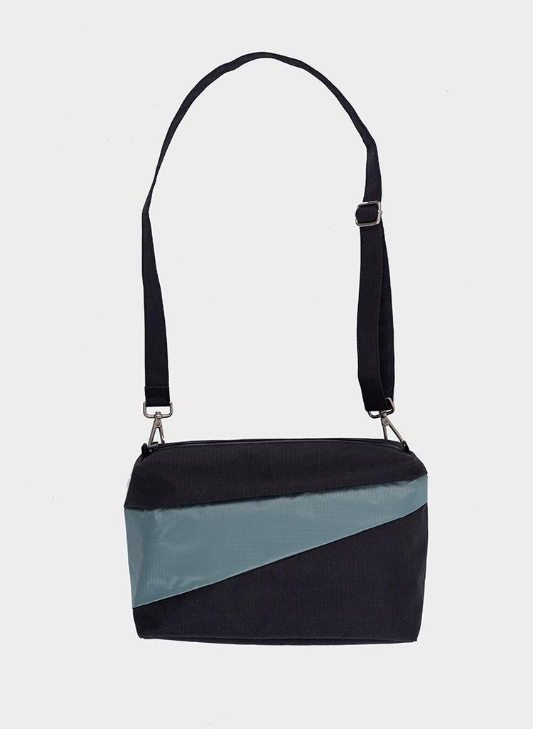 SUSAN BIJL Bum Bag Black & Grey
