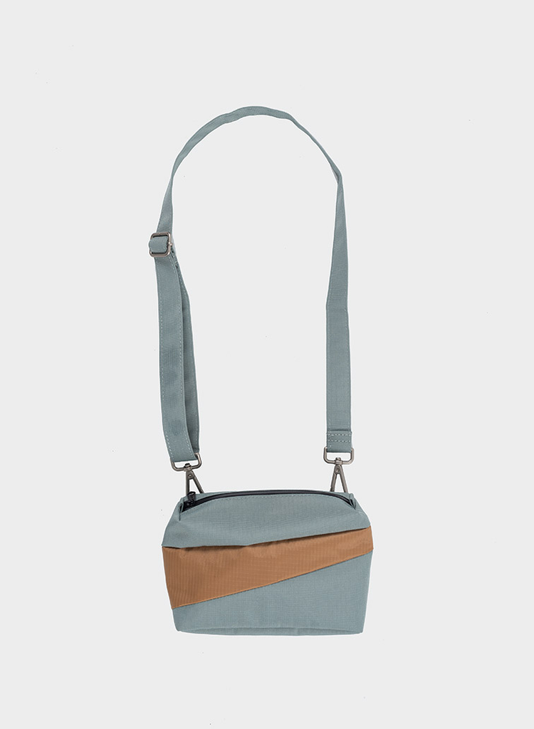 SUSAN BIJL Bum bag Grey & Camel