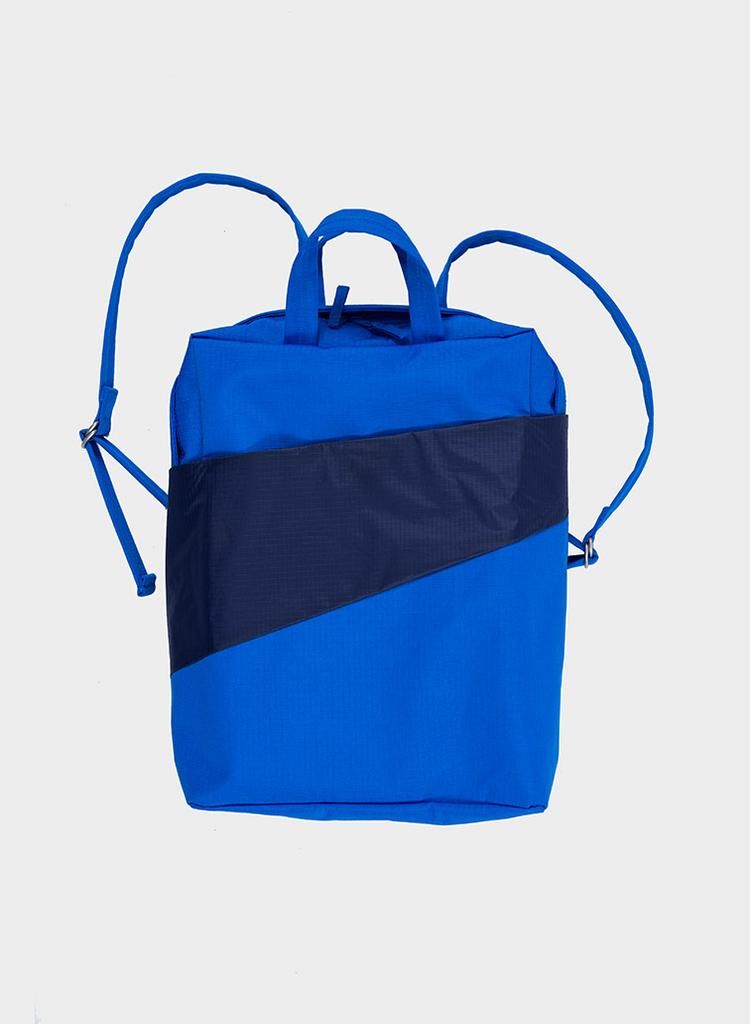 SUSAN BIJL Backpack Blue & Navy