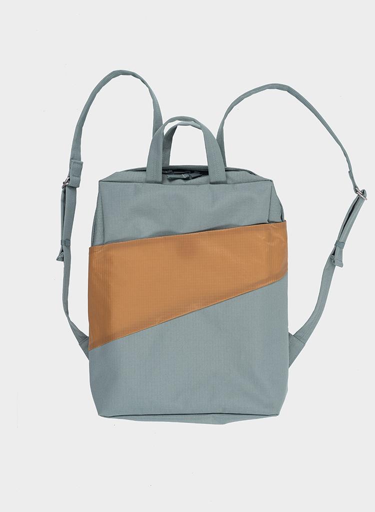 SUSAN BIJL Backpack Grey & Camel