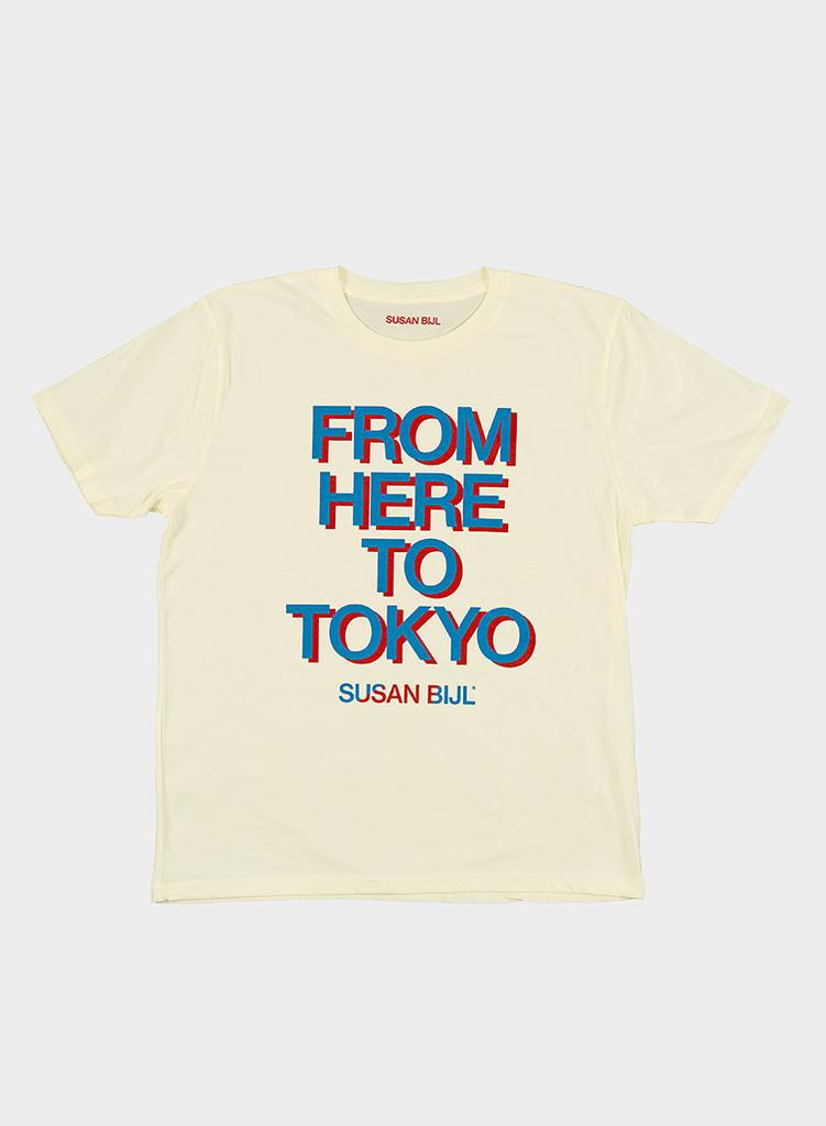 SUSAN BIJL Tokyo Shirt Red & Blue