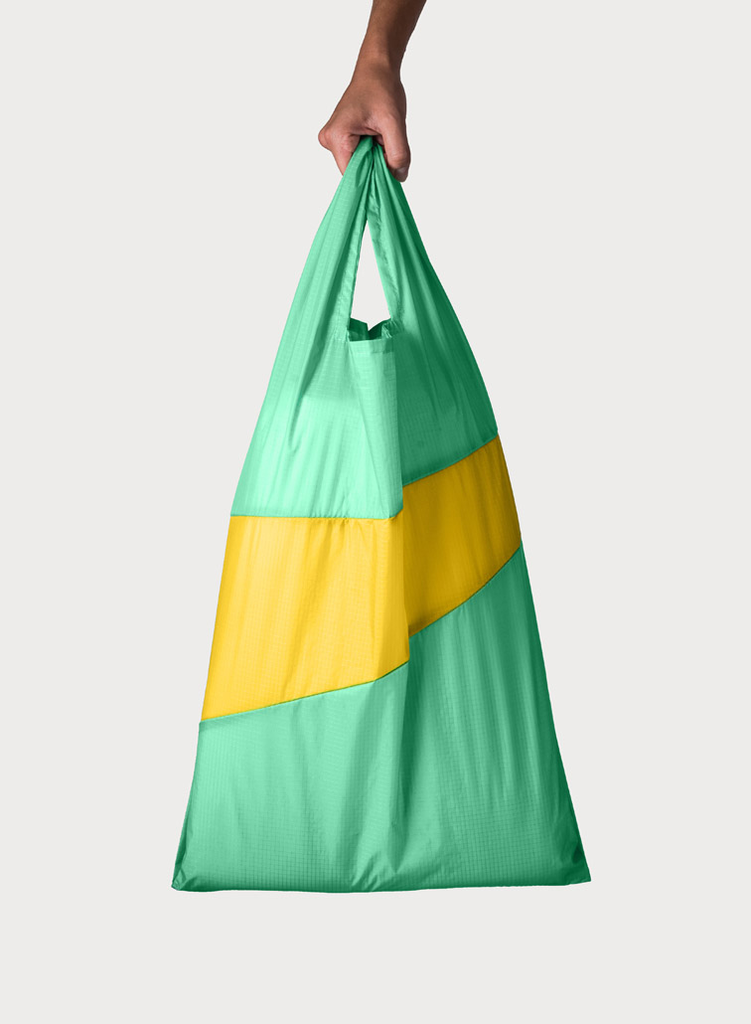 SUSAN BIJL Shopping Bag Jade & Helio