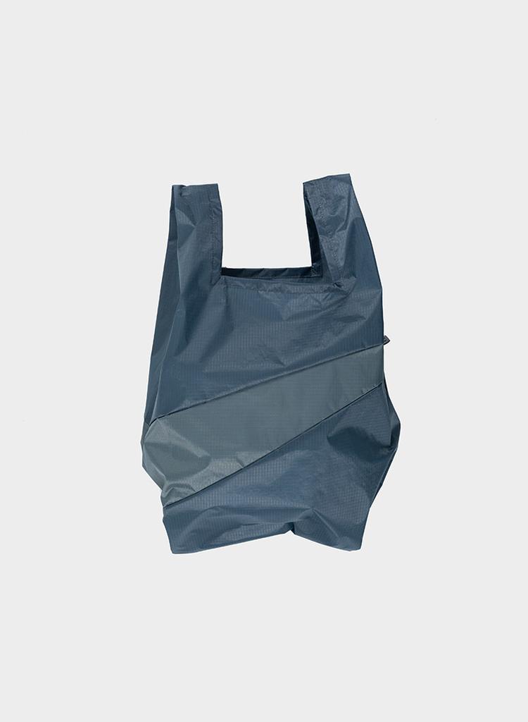 SUSAN BIJL Shopping Bag Fog & Smoke