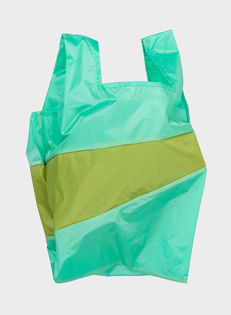 SUSAN BIJL Shopping Bag Jade & Apple