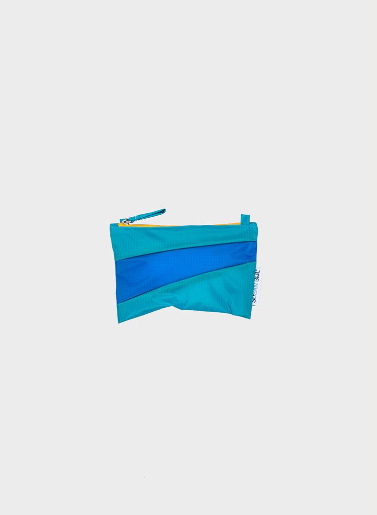 SUSAN BIJL Pouch Aqua & Blue