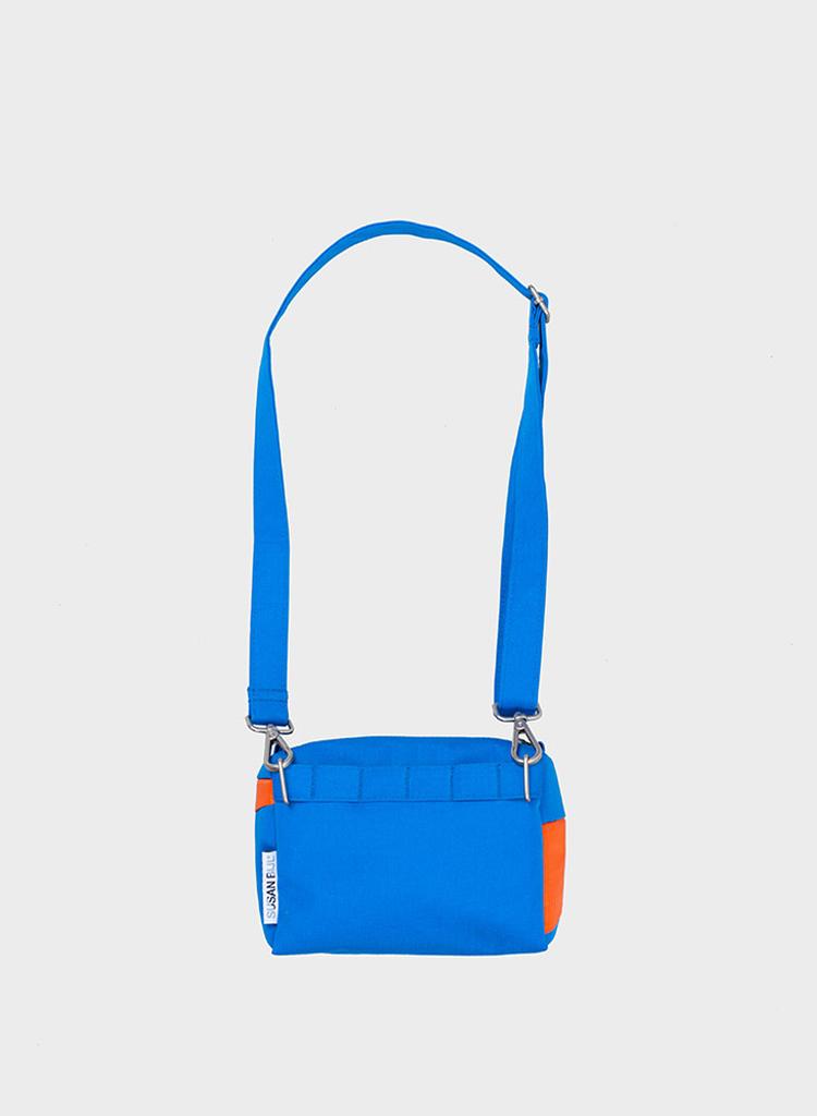 SUSAN BIJL Bum Bag Blue & Oranda