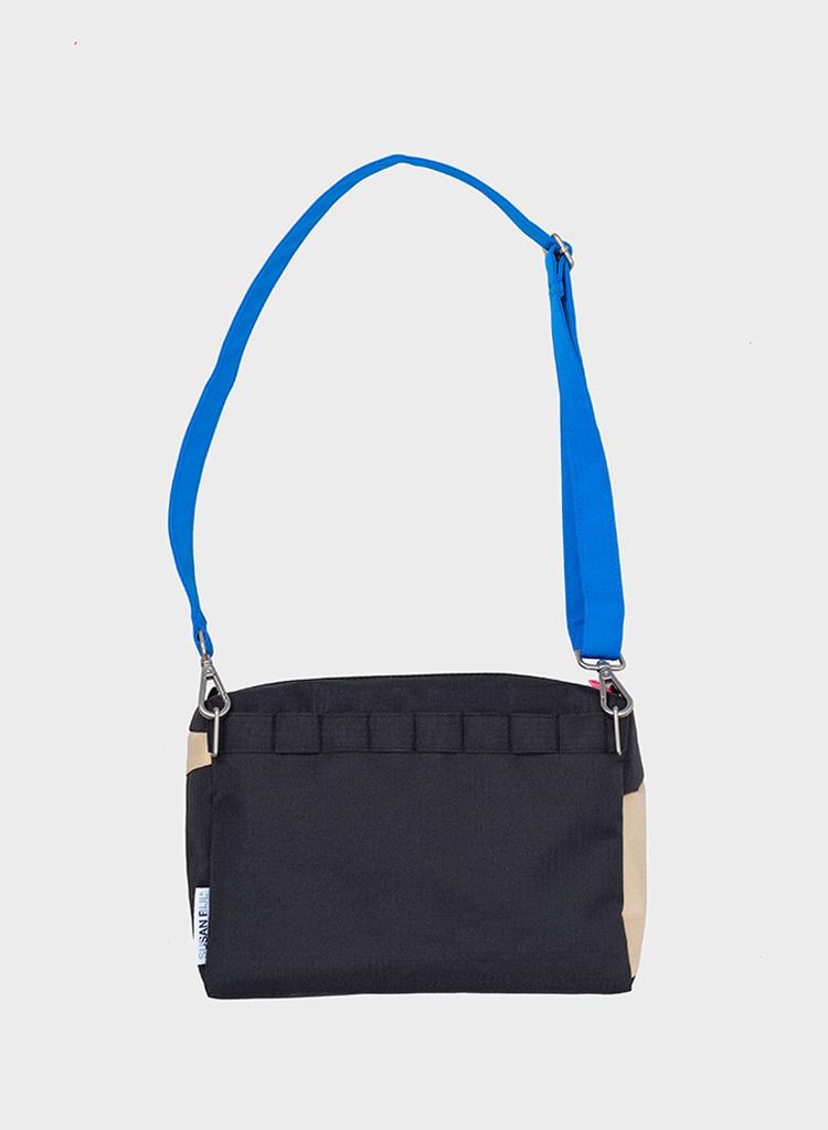 SUSAN BIJL Bum Bag Black & Liu