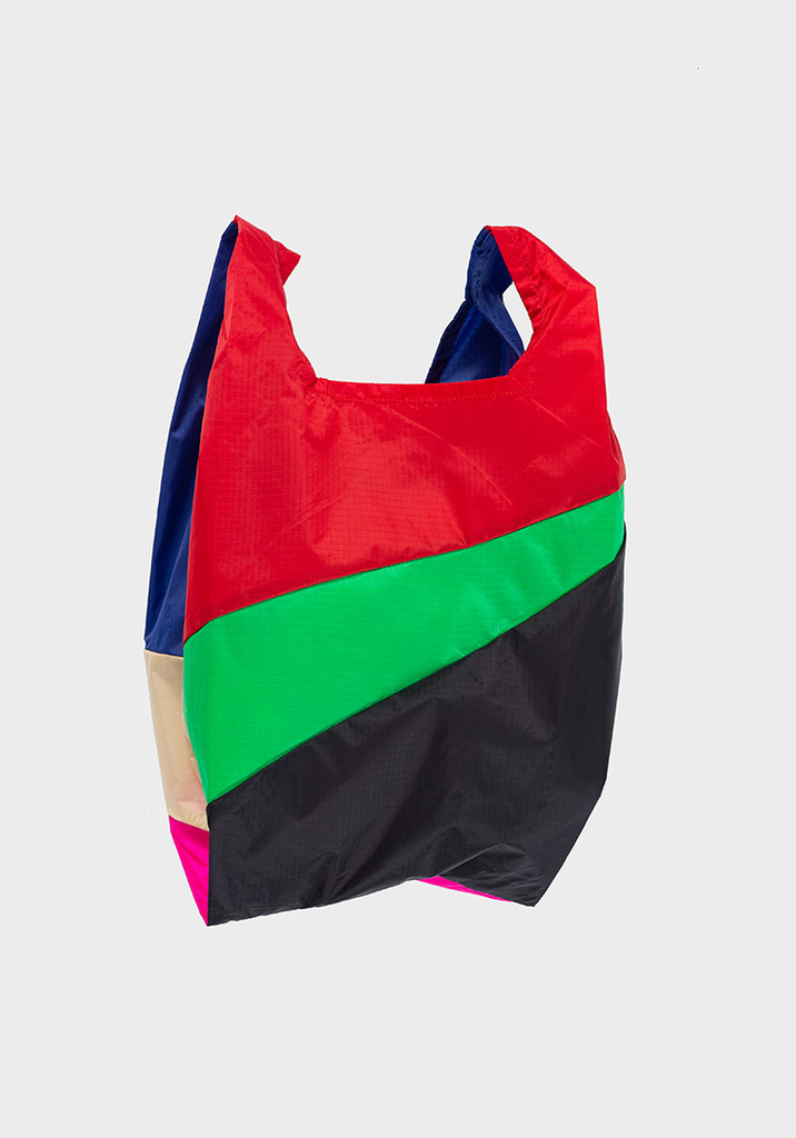 SUSAN BIJL Shopping Bag Red Alert, Greenscreen, Black, Blueback, Cees, Pretty Pink