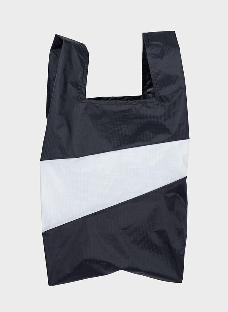 SUSAN BIJL Shopping Bag Black & White