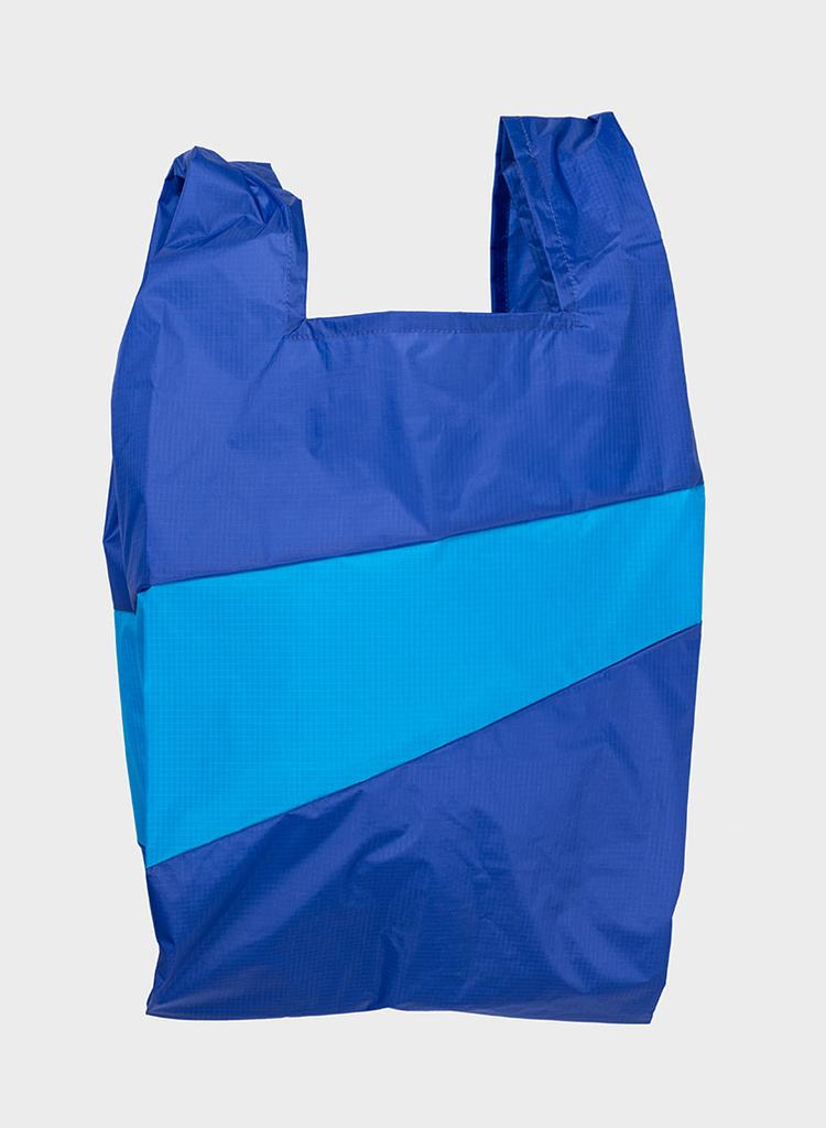 SUSAN BIJL Shopping Bag Electric Blue & Sky Blue