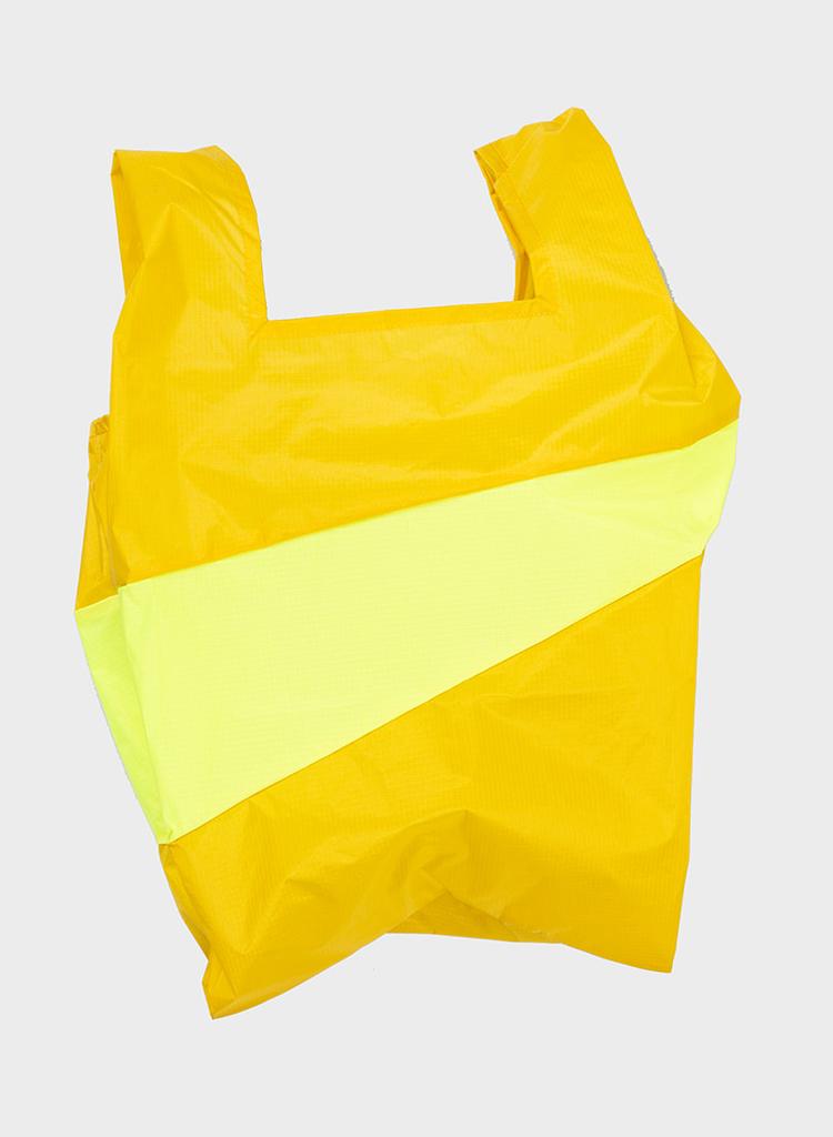 SUSAN BIJL Shopping Bag Helio & Fluo Yellow